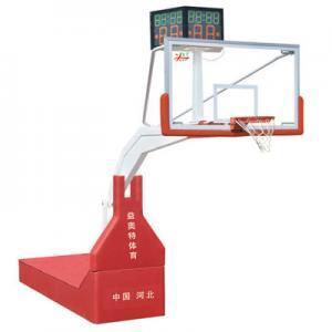 YATLJ-02A比赛用电动液压篮球架